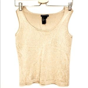 Small Gold Spanner Crop Top